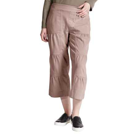 Neon Buddha Ain't Seen Nothing Yet Jersey Capris (For Women) in Taupe - Closeouts