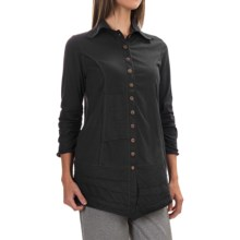 Neon Buddha Artisan Shirt - 3/4 Sleeve (For Women) in Black - Closeouts