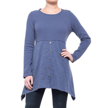 Neon Buddha Attention Tunic Shirt - Long Sleeve (For Women)