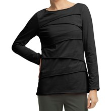 Neon Buddha Beijing Cotton Jersey Shirt - Long Sleeve (For Women) in Black - Closeouts