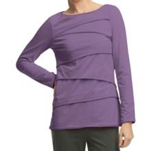 Neon Buddha Beijing Cotton Jersey Shirt - Long Sleeve (For Women) in Hybrid Purple - Closeouts