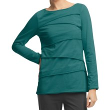 Neon Buddha Beijing Cotton Jersey Shirt - Long Sleeve (For Women) in Luxury Jade - Closeouts