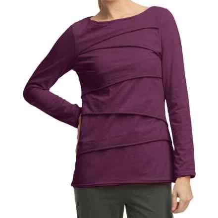 Neon Buddha Beijing Cotton Jersey Shirt - Long Sleeve (For Women) in Summer Plum - Closeouts