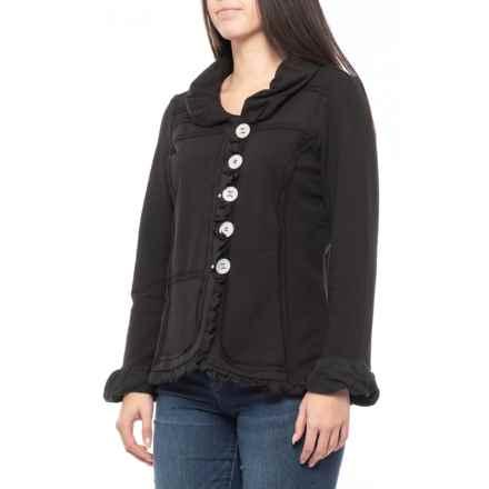 f900b68c35092f Neon Buddha Black Carmel Patchwork Jacket (For Women) in Black - Closeouts