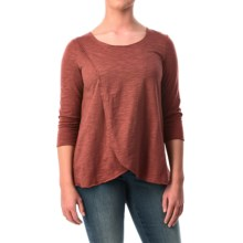Neon Buddha Blackbird Cotton Flared Shirt - Long Sleeve (For Women) in Bold Spice - Closeouts