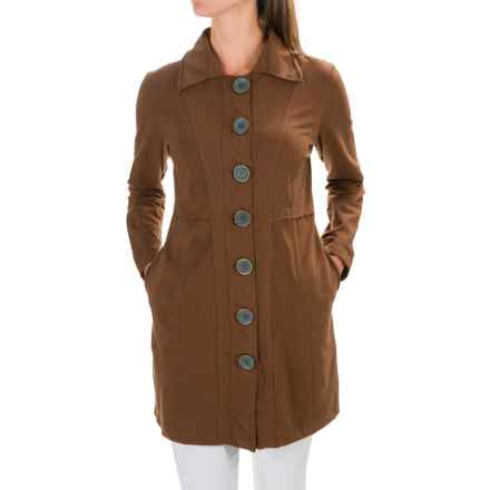 Neon Buddha Born to Run Car Jacket - Button Front (For Women) in Brown Eyed Girl - Closeouts