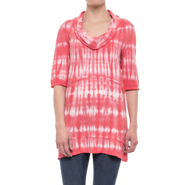 Neon Buddha Brycee Tunic Shirt - Cowl Neck, Elbow Sleeve (For Women)