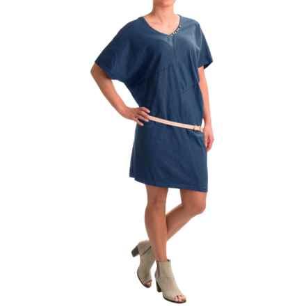 Neon Buddha Burbank Dress - Short Sleeve (For Women) in Deep Blue - Closeouts