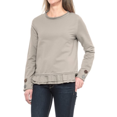 Neon Buddha Cape Side Shirt - Long Sleeve (For Women)