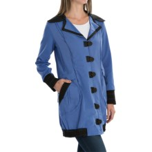 Neon Buddha Chotana Car Jacket - Button-Up, Princess Seams (For Women) in Abbotsford Blue - Closeouts