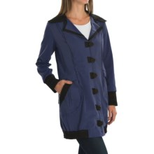 Neon Buddha Chotana Car Jacket - Button-Up, Princess Seams (For Women) in Explorer Navy - Closeouts