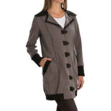 Neon Buddha Chotana Car Jacket - Button-Up, Princess Seams (For Women) in Sustainable Charcoal - Closeouts