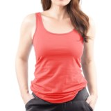 Neon Buddha Climate Tank Top - Stretch Cotton (For Women)
