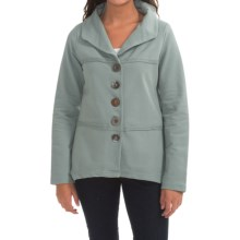 Neon Buddha Coffee Run Blazer - French Terry (For Women) in Sweet Sage - Closeouts