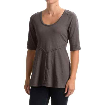 Neon Buddha Corrina Shirt - Elbow Sleeve (For Women) in Sustainable Charcoal - Closeouts