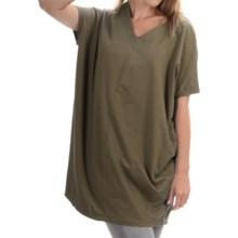 Neon Buddha Cosmic Tunic Shirt - Stretch Cotton, Sleeveless (For Women) in Hudson Moss - Closeouts