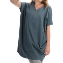 Neon Buddha Cosmic Tunic Shirt - Stretch Cotton, Sleeveless (For Women) in Valley Blue - Closeouts