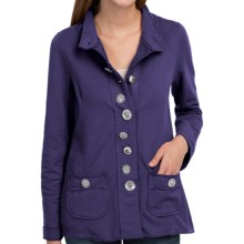 Neon Buddha Crossroads Blazer - French Terry (For Women) in Royal Jewel - Closeouts