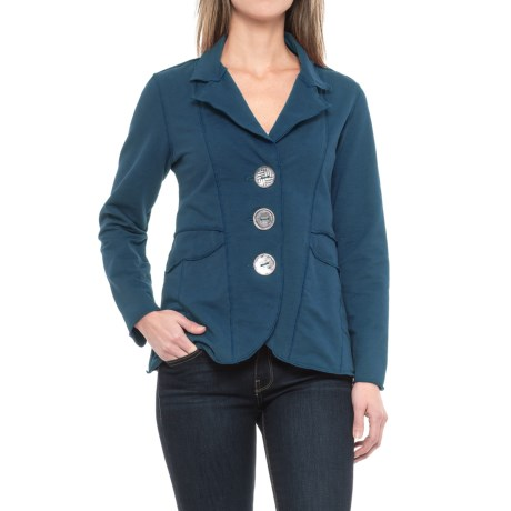 Neon Buddha Dakota Jacket (For Women) in Deep Blue