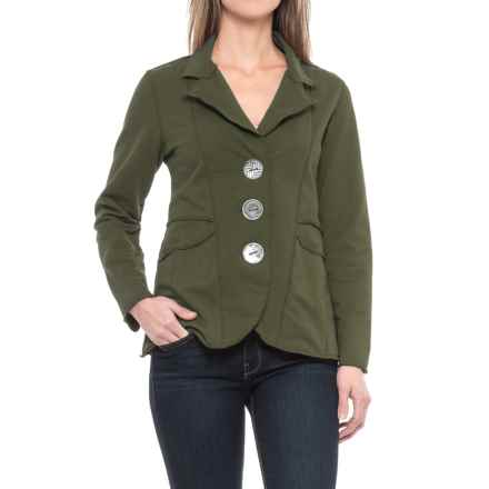 Neon Buddha Dakota Jacket (For Women) in Moss Green - Closeouts