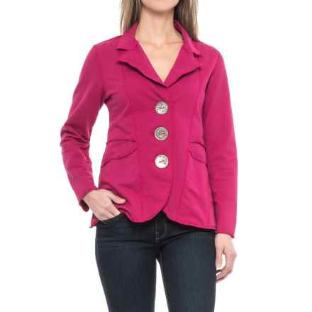 Neon Buddha Dakota Jacket (For Women) in Pink Berry - Closeouts