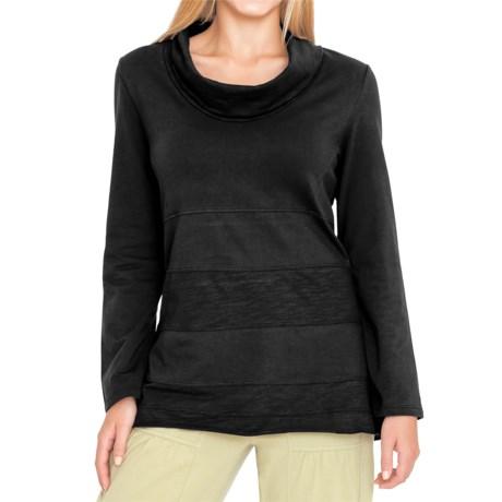 Neon Buddha Dalton Tunic Shirt - Cowl Neck, Long Sleeve (For Women) in Black