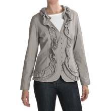 Neon Buddha Day In The Life Jersey Jacket (For Women) in Studio Grey - Closeouts