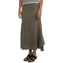 Neon Buddha Day Tripper Skirt - Stretch Cotton (For Women) in Olive - Closeouts