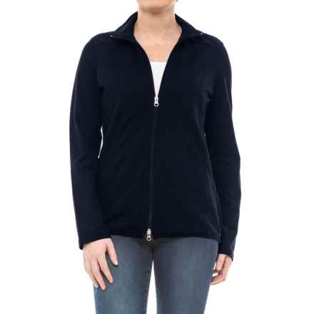 Neon Buddha Daydream Jersey Jacket (For Women) in Explorer Navy - Closeouts
