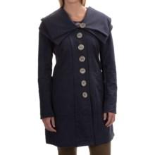 Neon Buddha Distinctive Jacket - Stretch Cotton (For Women) in Explorer Navy - Closeouts