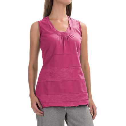 Neon Buddha Eight Days a Week Tank Top - Stretch Cotton (For Women) in Berry - Closeouts