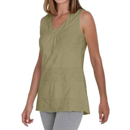 Neon Buddha Eight Days a Week Tank Top - Stretch Cotton (For Women) in Mountain Moss - Closeouts