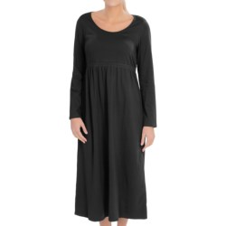 Neon Buddha Fabulous Scoop Neck Dress - Long Sleeve (For Women) in 16 Black