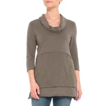 3ec2a94f0ef94c Neon Buddha Fern Charlton Tunic Shirt - 3 4 Sleeve (For Women) in