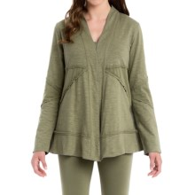 Neon Buddha Forever Young Cardigan Sweater (For Women) in Olive - Closeouts