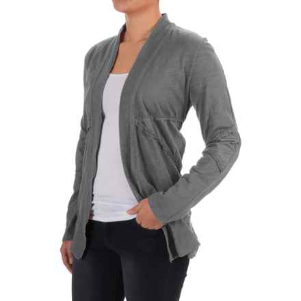 Neon Buddha Forever Young Cardigan Sweater (For Women) in Smoke Grey - Closeouts