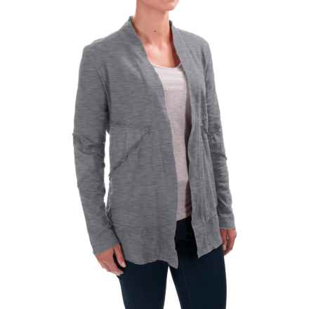 Neon Buddha Forever Young Jacket (For Women) in Smoke Grey - Closeouts