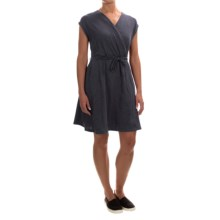 Neon Buddha Gloria Dress - Short Sleeve (For Women) in Explorer Navy - Closeouts