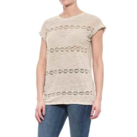 Neon Buddha Grace Shirt - Short Sleeve (For Women) in Sand - Closeouts