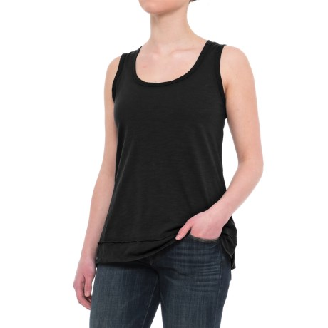 Neon Buddha Gracey Basic Tank Top (For Women) in Black