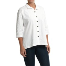 Neon Buddha Inspiration Shirt - 3/4 Sleeve (For Women) in Barry White - Closeouts