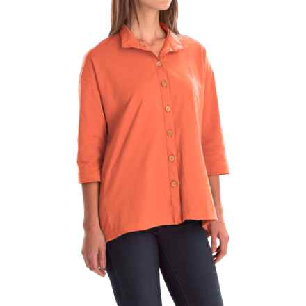 Neon Buddha Inspiration Shirt - 3/4 Sleeve (For Women) in California Girl - Closeouts