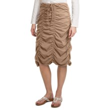 Neon Buddha Jackson Ruched Skirt (For Women) in Khaki - Closeouts