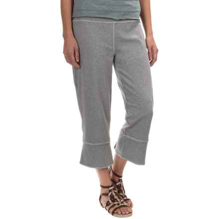 Neon Buddha Joey Capris - Stretch Cotton (For Women) in Barry White - Closeouts