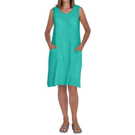 Neon Buddha Johanna Tank Dress - Sleeveless (For Women) in Winter Turquoise - Closeouts