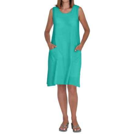 Neon Buddha Johanna Tank Dress - Sleeveless (For Women) in Winter Turquoise - Closeouts