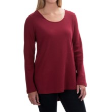 Neon Buddha Legendary Shirt - Long Sleeve (For Women) in Wine - Closeouts