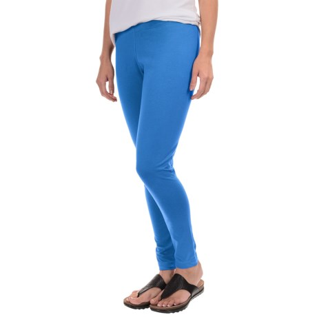 Neon Buddha Licorice Leggings (For Women) in Electric Blue