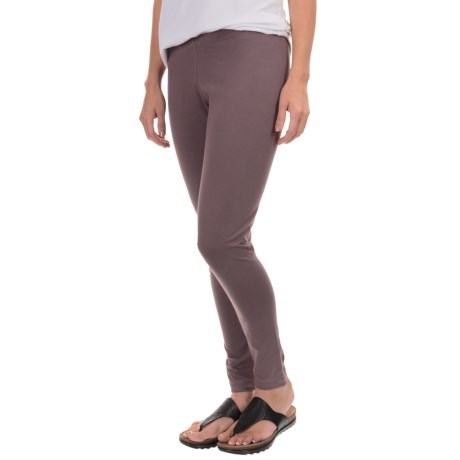 Neon Buddha Licorice Leggings (For Women) in Modern Orchid