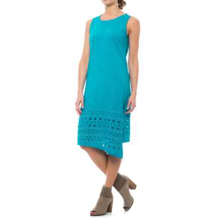 Neon Buddha Livia Dress - Sleeveless (For Women) in Turquoise - Closeouts